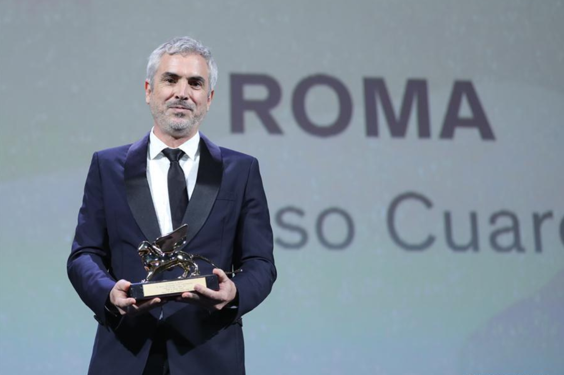 Mexican director Alfonso Cuaron wins Golden Lion at Venice Film Festival