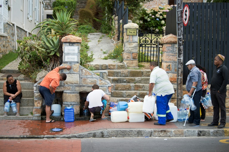 South Africa's Cape Town eases water rationing