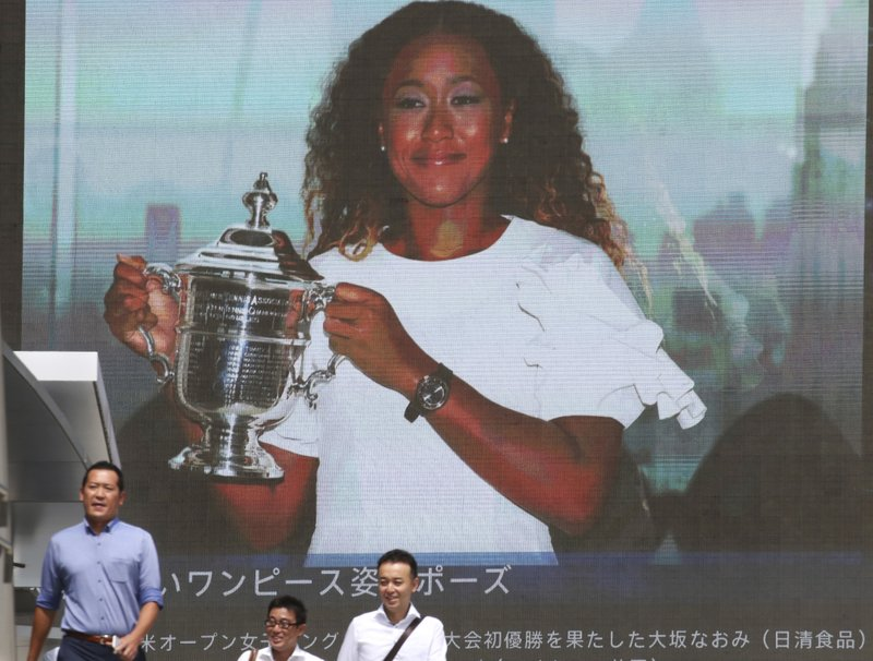 Osaka charms Japan with her manners