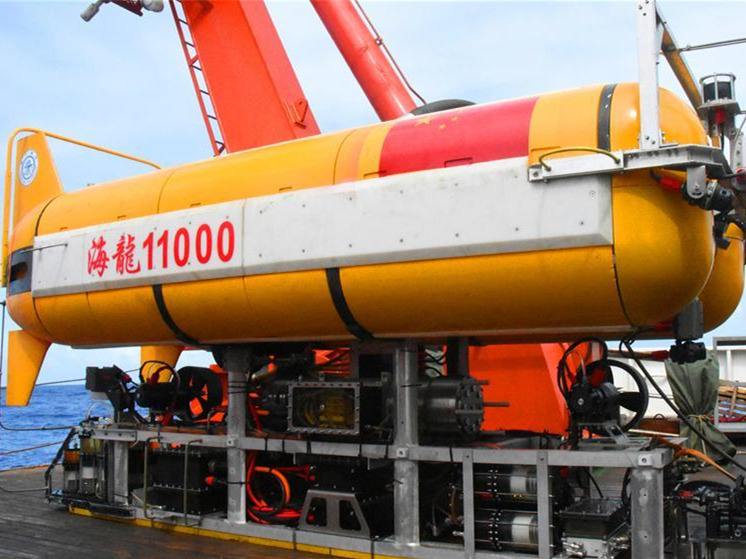 Hailong 11000 creates new ROV record with 5,600-meter deep sea test