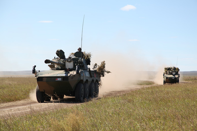 Chinese troops take part in Russia's huge military exercise