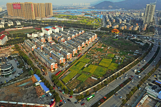China makes steady progress in urbanization