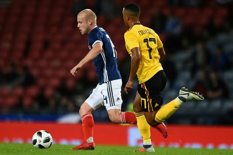 Scotland claim welcome win on eventful night for Naismith