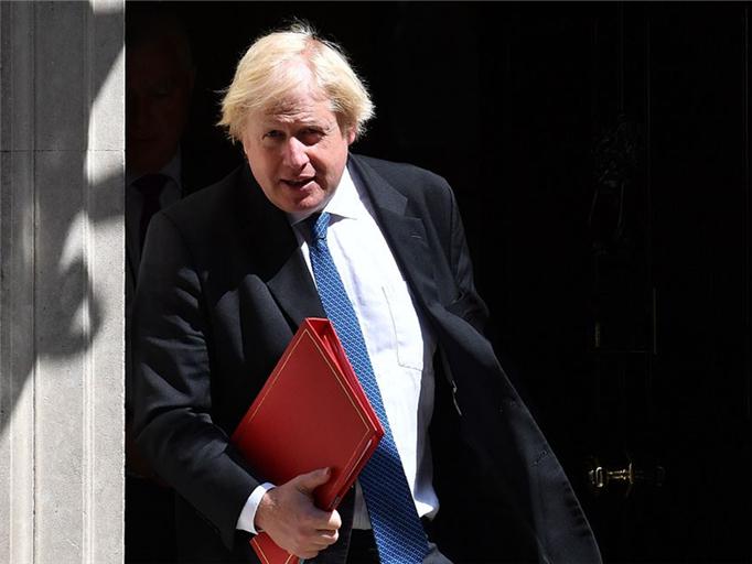 Boris Johnson slammed for remarks against May's Brexit plan