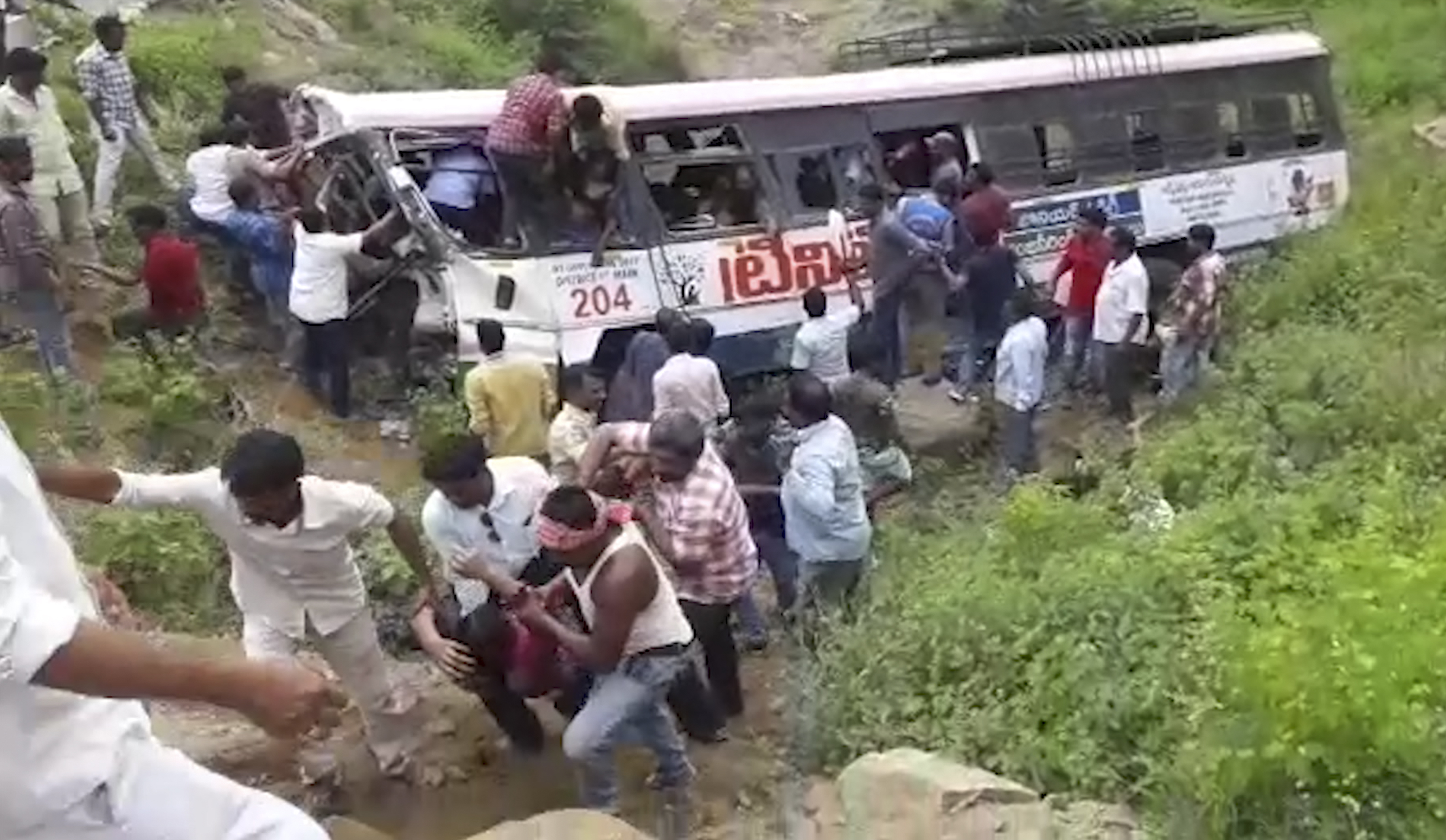 Death toll in India bus accident rises to 46