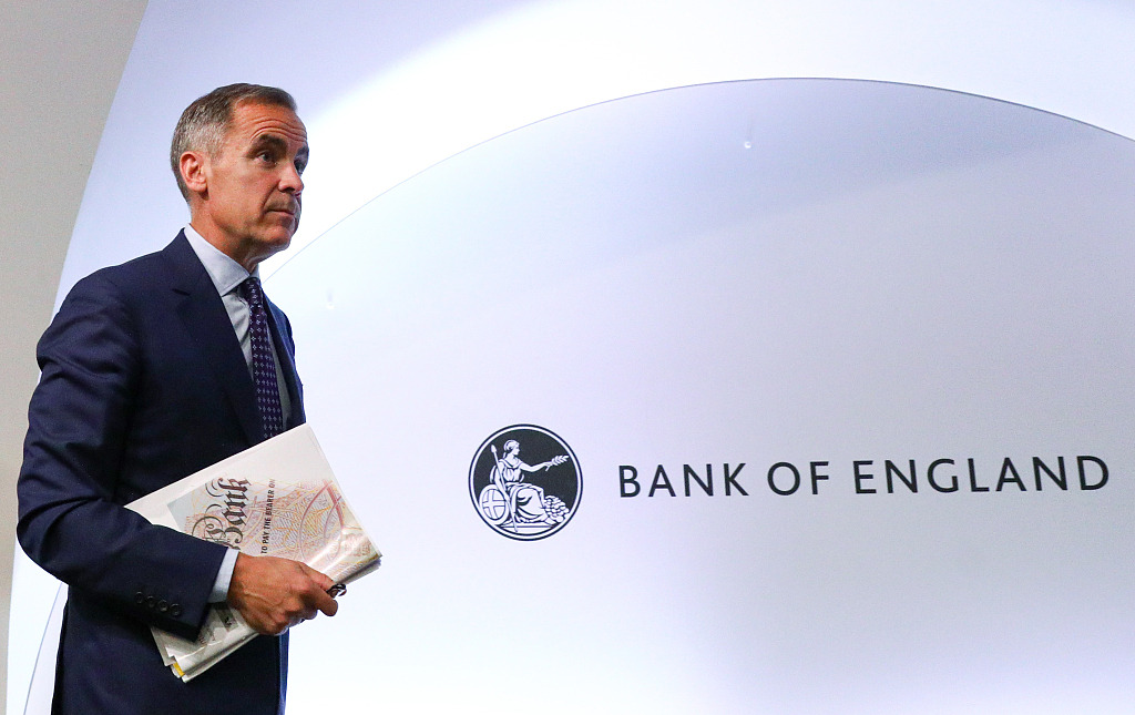 Bank of England chief Carney extends post-Brexit stay