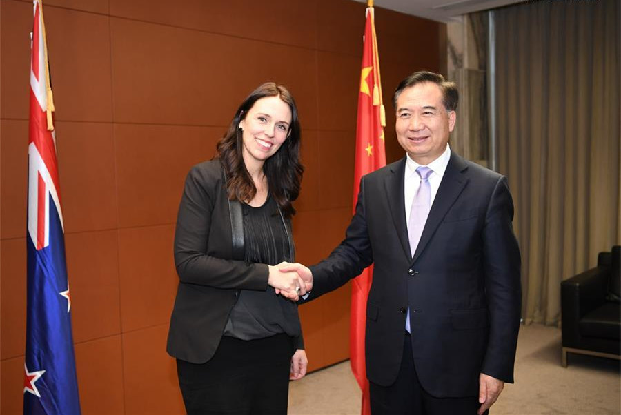 China, New Zealand vow to expand cooperation