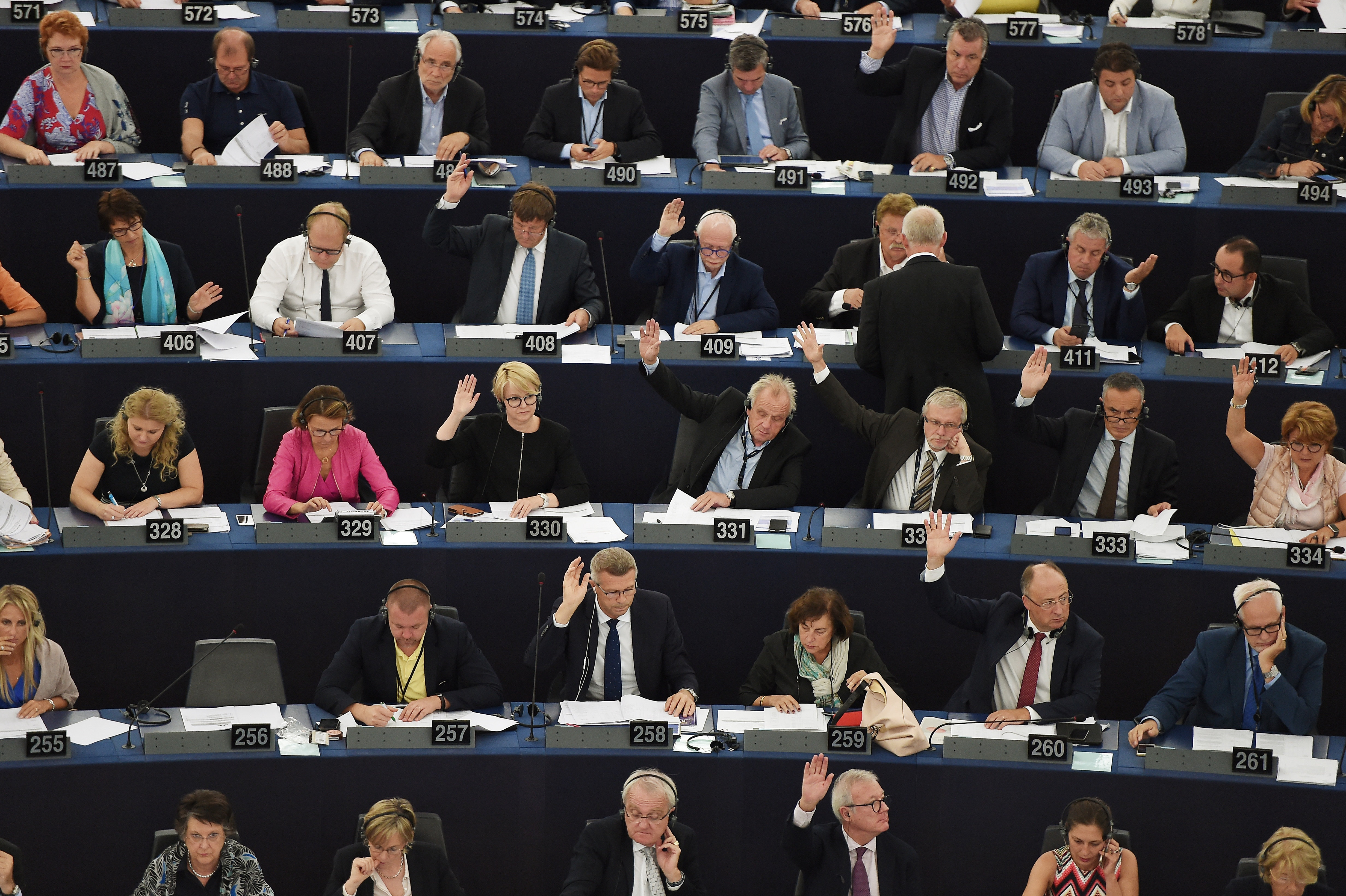European Parliament questions US 'America First' policy