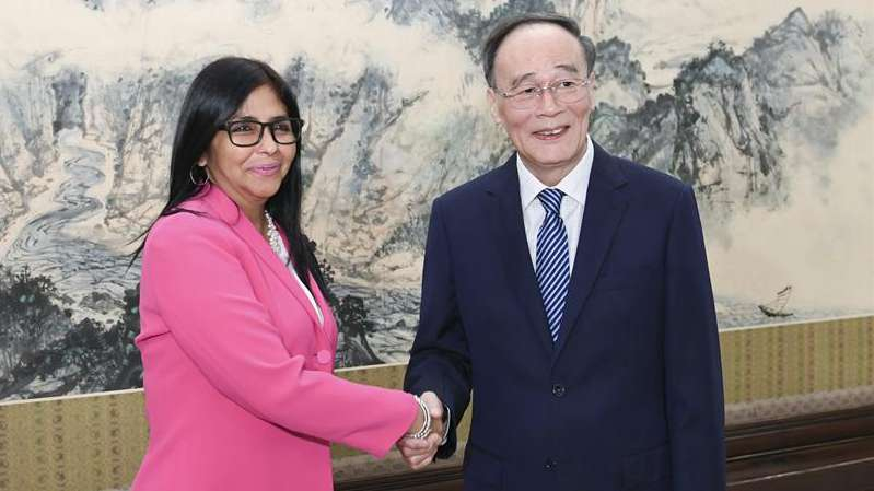 China ready to safeguard interests of developing countries with Venezuela