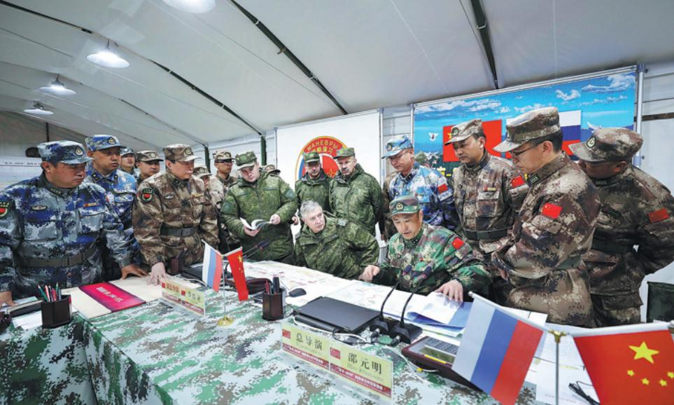 Joint military drills broad-based