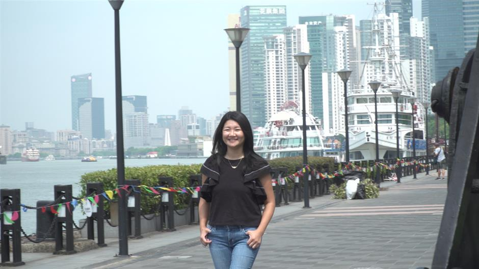Taiwan resident in Shanghai reflects on her life and the district's changes