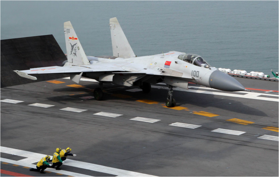 Aircraft carrier-based fighter jet officially capable of night combat