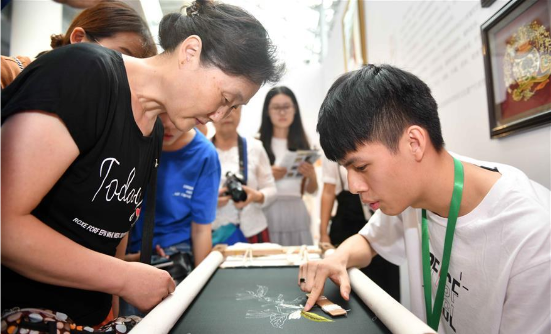 5th China intangible cultural heritages expo held in E China's Shandong