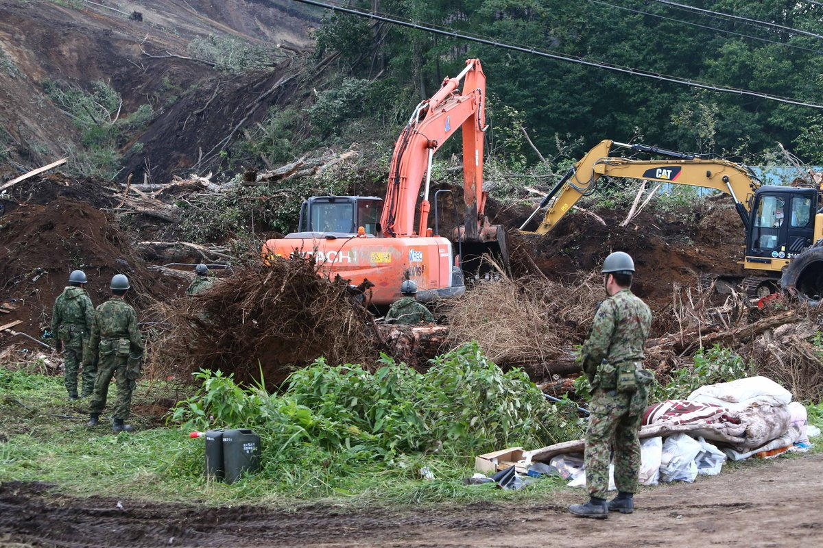 Japan's Hokkaido still reeling a week after deadly quake