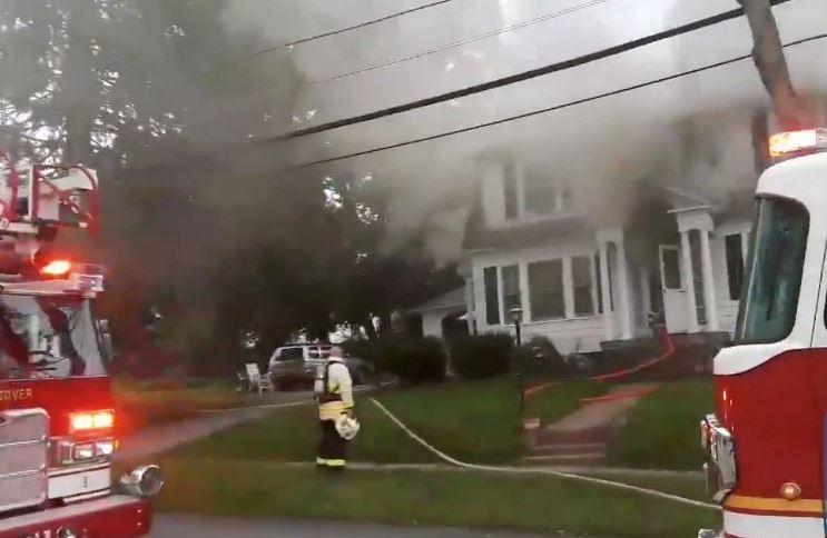 Multiple gas explosions set homes ablaze near Boston, forcing evacuations