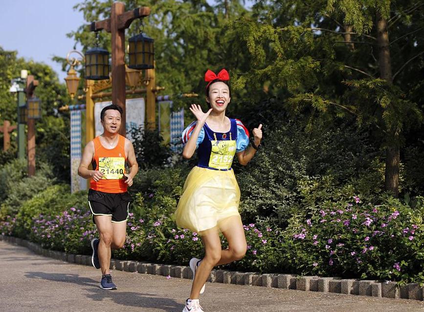 Shanghai holds its first Disney Inspiration Run