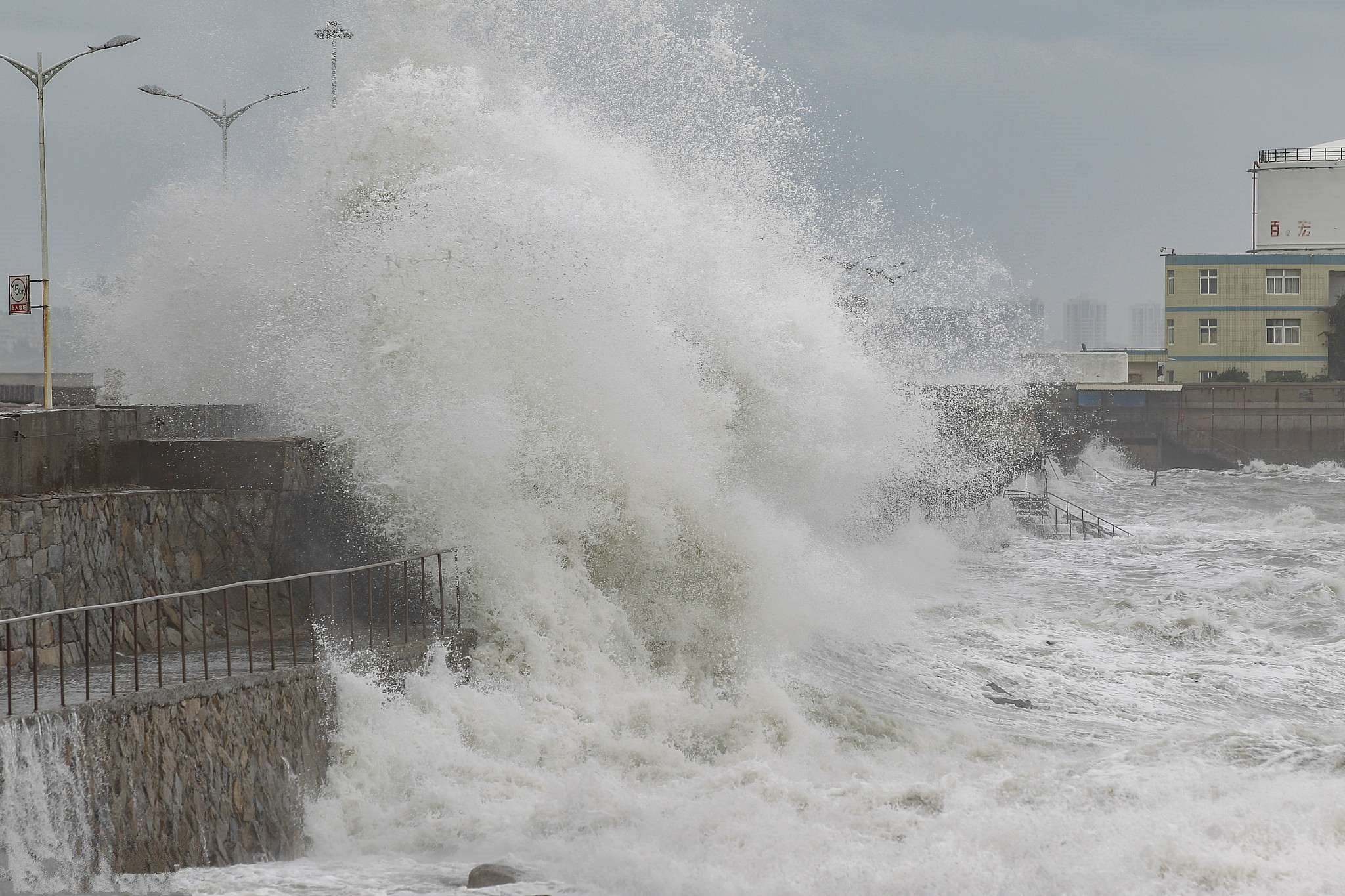 Southern China on high alert as super typhoon nears