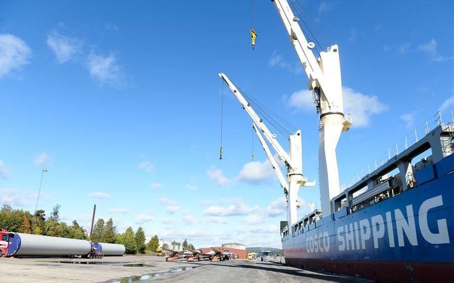 "China's ""Tian En"" ship wraps up maiden Arctic tour in Sweden"