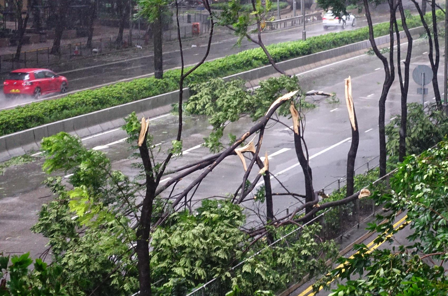 The horrible Typhoon Mangkhut is coming!