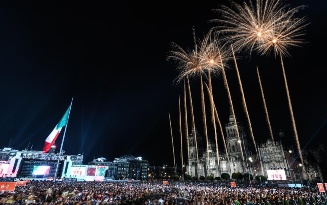 Mexico celebrates 208th anniversary of Independence Day