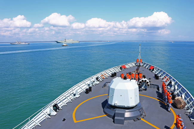 Chinese vessel returns home after Australia drill