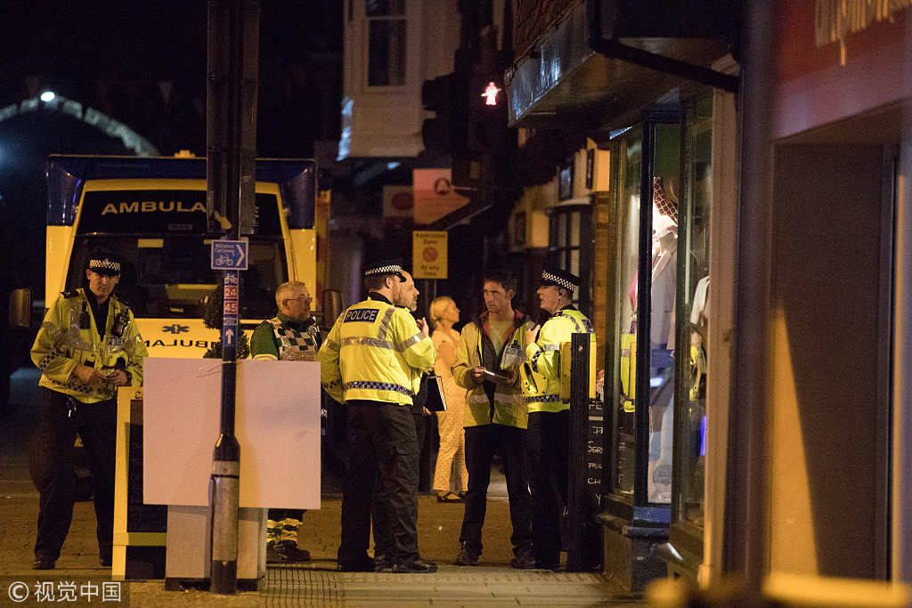 Dining couple fall ill in UK town hit by poisoning: police