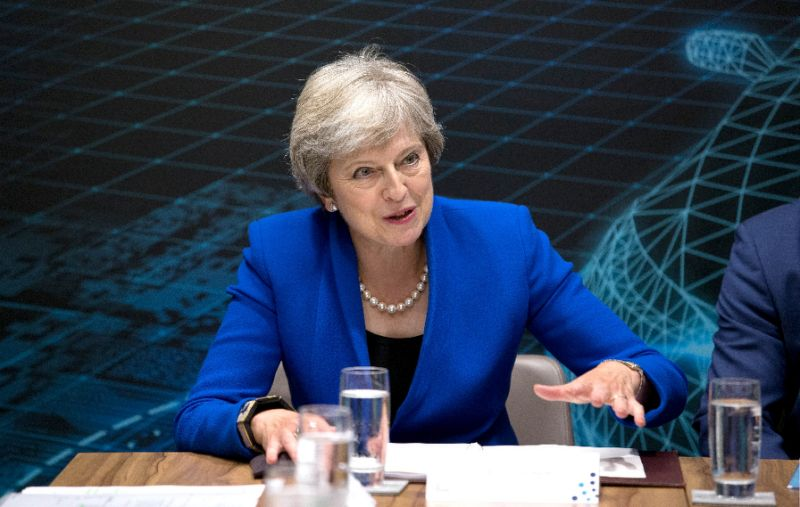 My Brexit plan or crash out of EU: UK PM