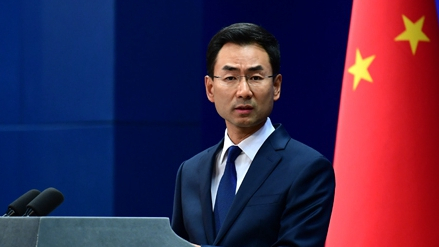 China warns 'external parties' against moves in South China Sea