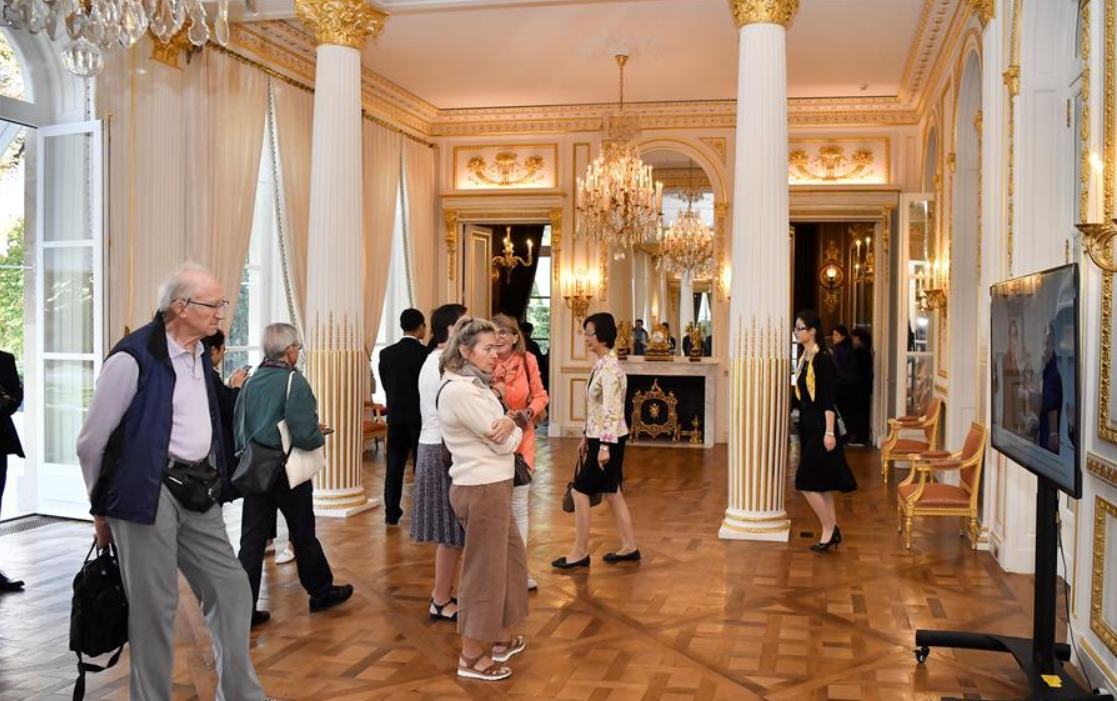 Chinese Embassy in France opens to visitors on European Heritage Days