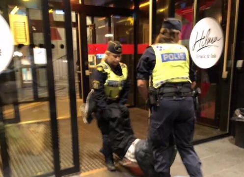 No criminal offense committed by police: Swedish Prosecution Office