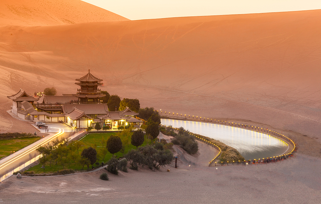 Bullet trains to link oasis city Dunhuang with capital city Lanzhou
