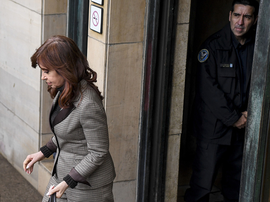 Argentina's ex-president charged with corruption