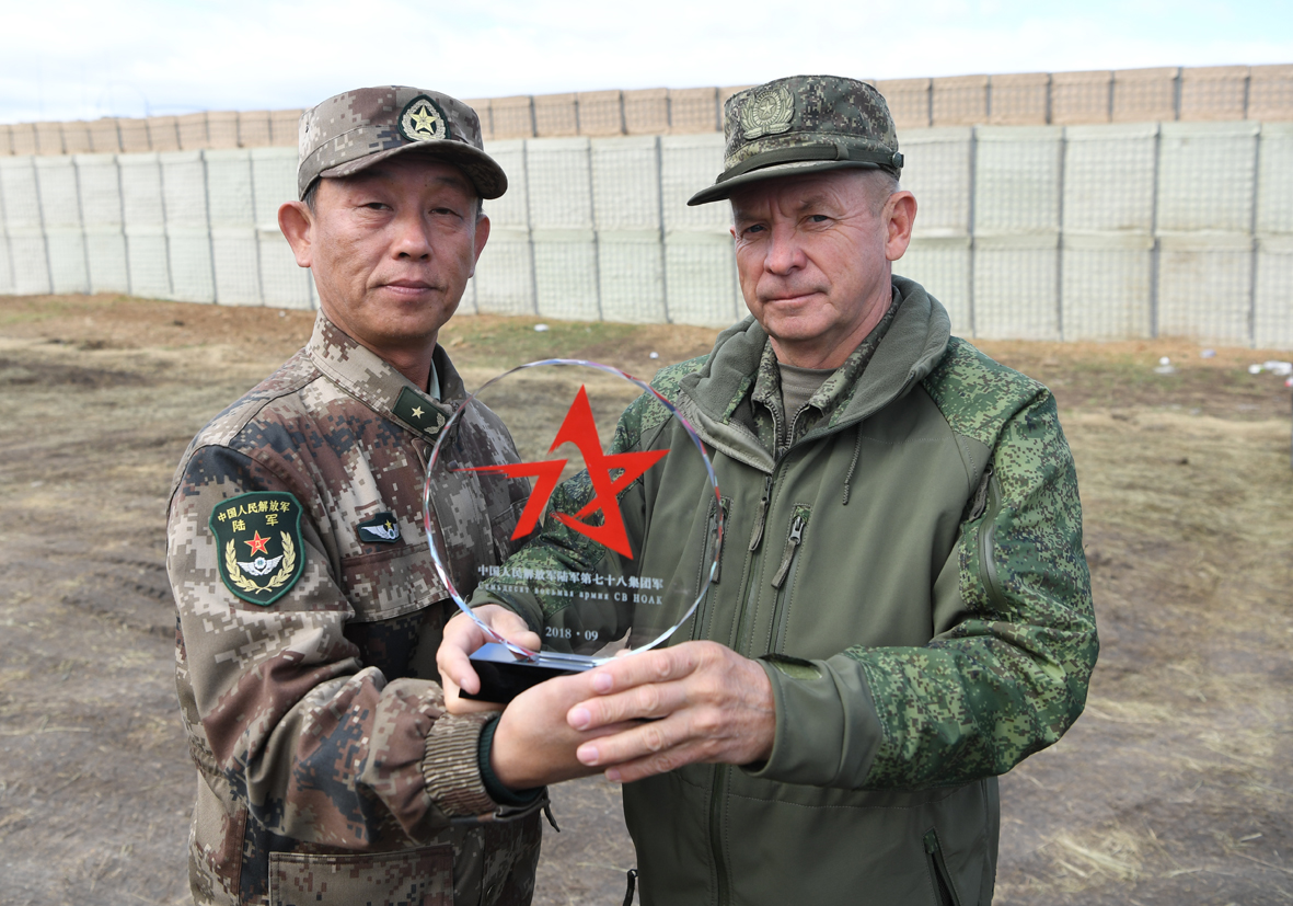 Chinese troops return from Russia after completing Vostok-2018 military exercise
