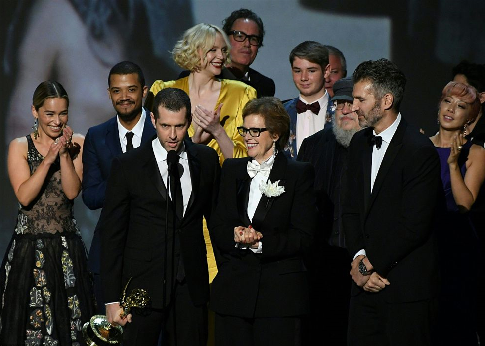 'Game of Thrones' wins the third Emmy for best drama series