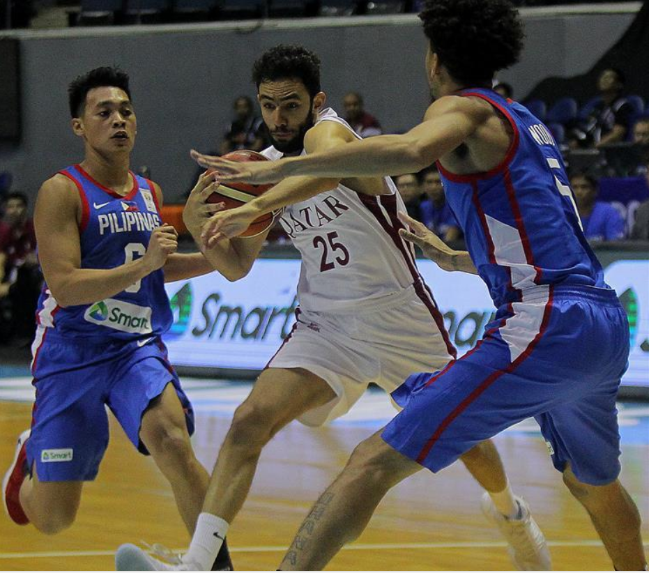 Philippines beats Qatar 92-81 during FIBA Basketball World Cup 2019 Group F qualifier