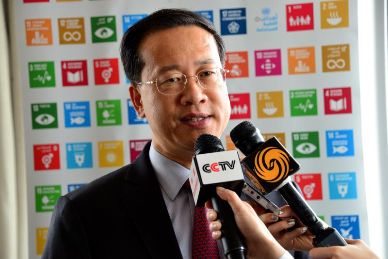 Chinese UN Envoy: China's position on the Korean Peninsula nuclear issue unchanged