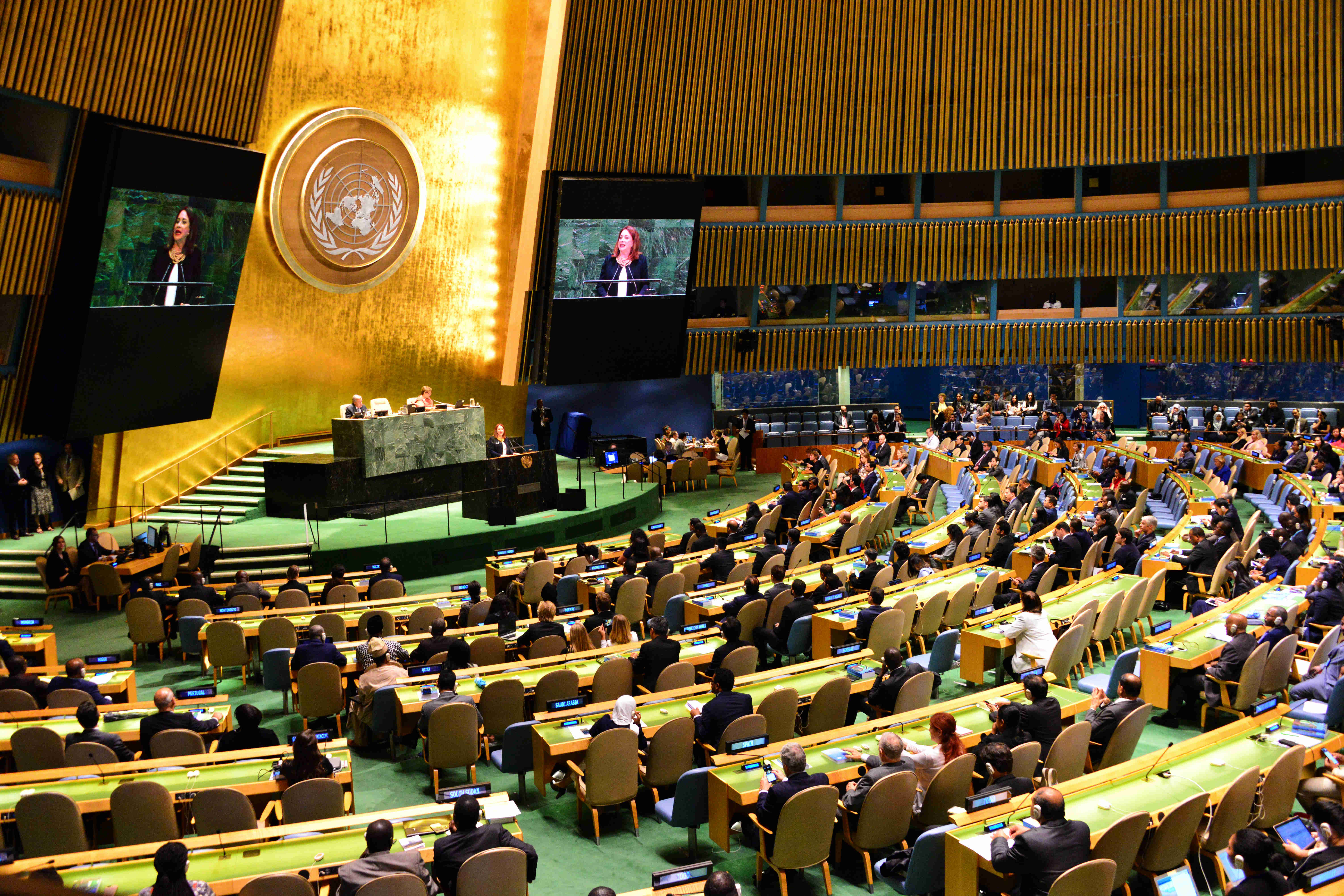 The 73rd session of the General Assembly kicks off at the UN Headquarters in New York