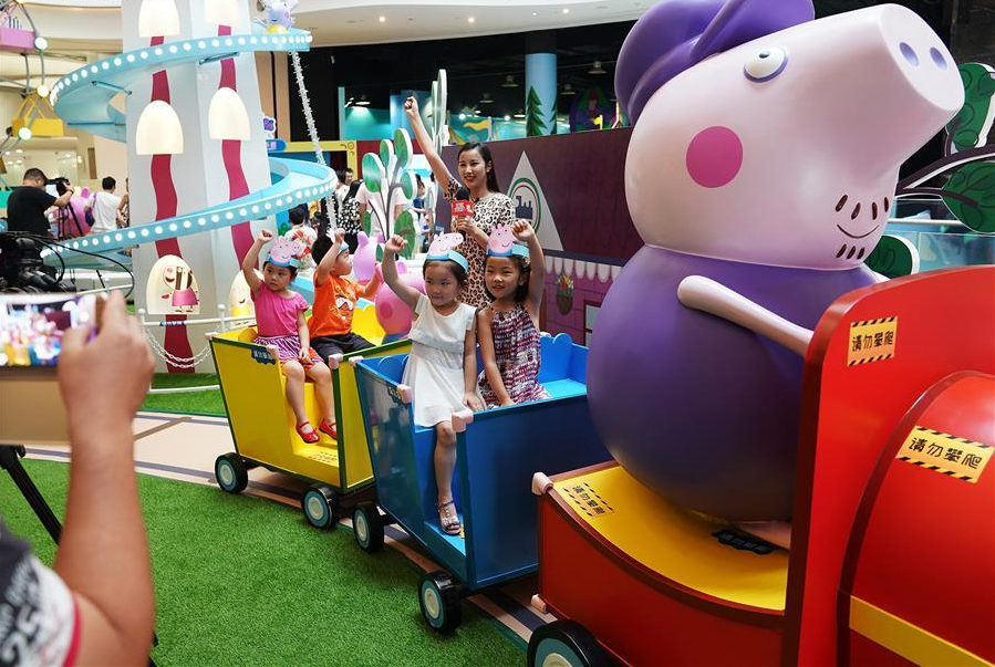 Chinese legal enforcement of trademarks improving: Peppa Pig production company