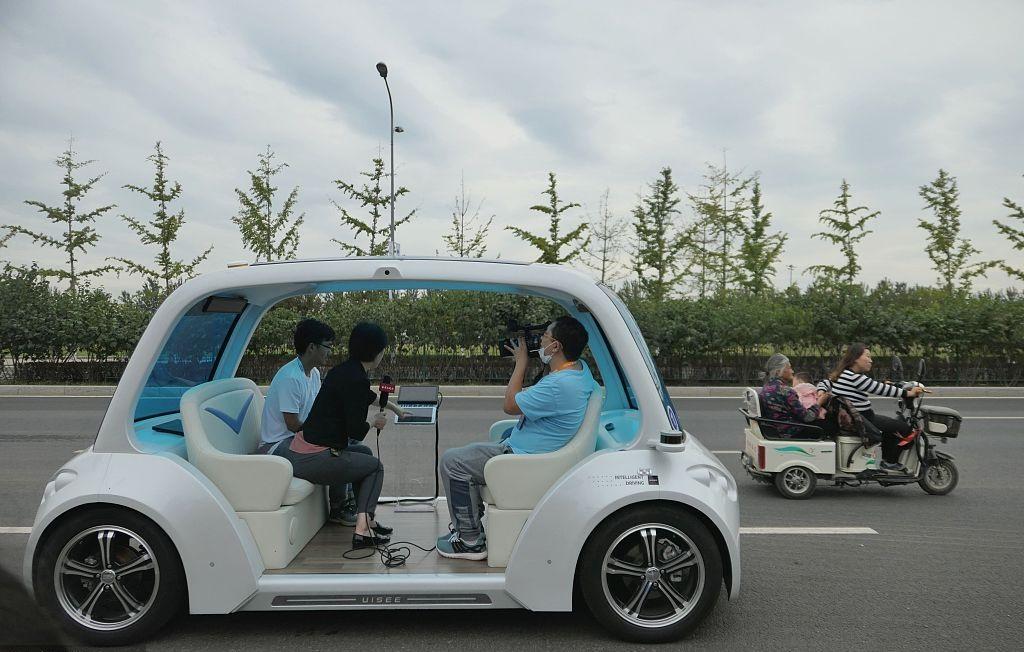 Beijing adds 11 roads for autonomous-driving tests