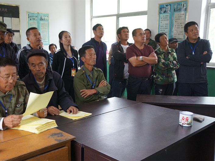 In a Chinese village, every vote counts