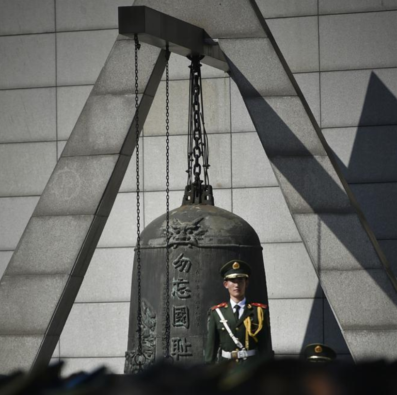 China museum guide commemorates war history to promote peace