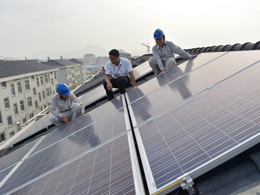 Rooftop solar power systems expand rapidly in Zhejiang