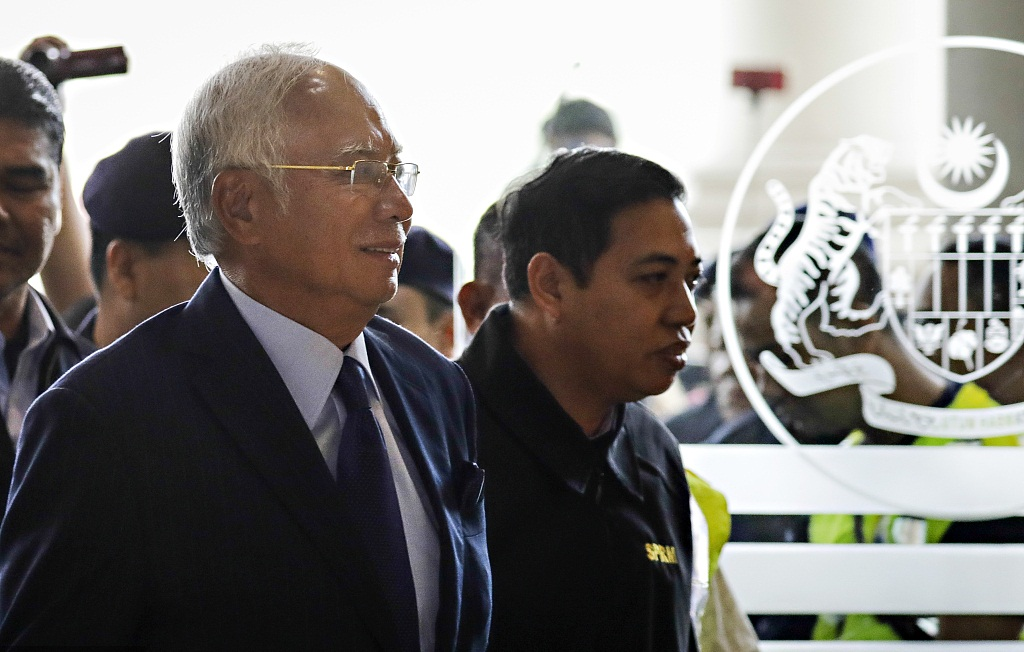 Najib pleads not guilty to 25 new charges